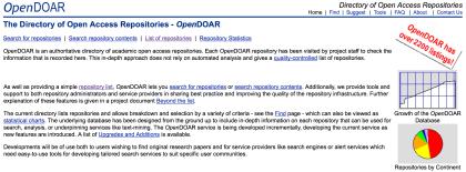 OpenDOAR