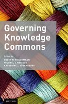 Governing Knowledge Commons Book Cover