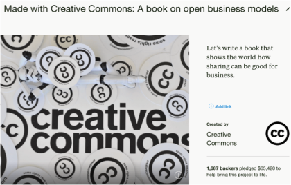 open business models kickstarter campaign