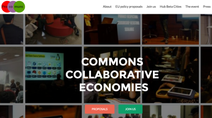 Commons Collaborative Economies